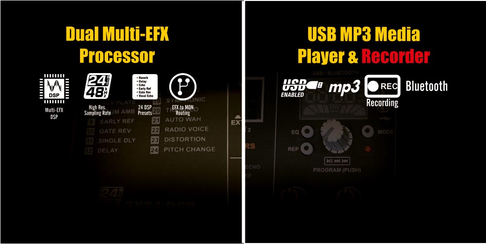Orb EFX USB Recorder by Studiomaster Professional