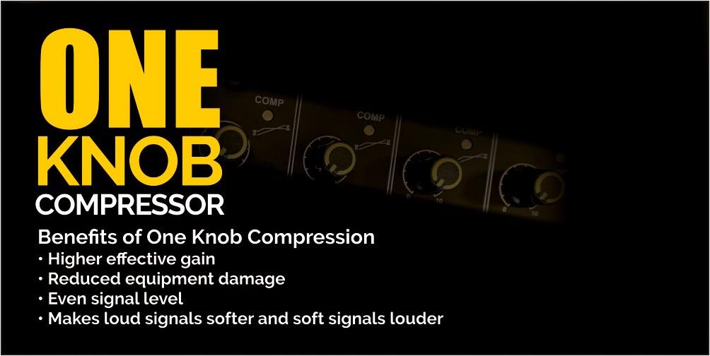 Orb One Knob Compressor by Studiomaster Professional