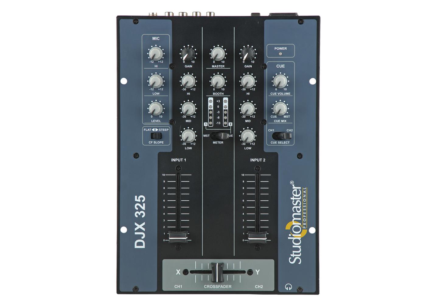 djx-325 3 channel dj mixer by studiomaster Professional.jpg