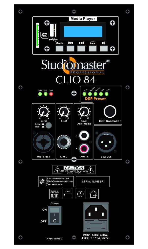 Clio 84 Back