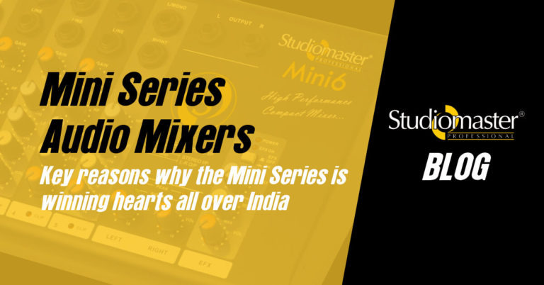 Exploring Why the Mini Series is Among the Best Compact Audio Mixers in India